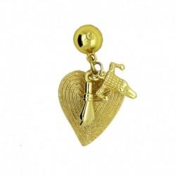 Charms Pin Gold Plated 24K...
