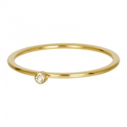 BAGUE BLOND FLARE 1 STONE...