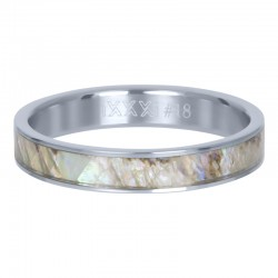 BAGUE GREY SHELL COVER 4 MM...
