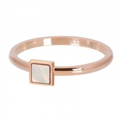 BAGUE PINK SHELL STONE...