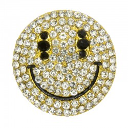 SMILEY SILVER / GOLD 30 MM...