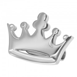 CROWN BROOCH SMALL, ARGENT...