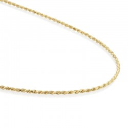 NECKLACE ROPE CHAIN GOLD...