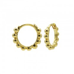 PLAIN HOOPS DOTS 10 MM...