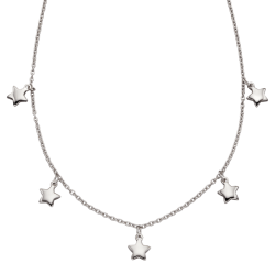 TAARA STAR CHARM NECKLACE -...