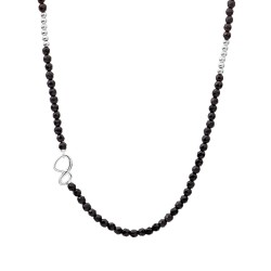 LINK COLLIER SILVER, ONYX -...