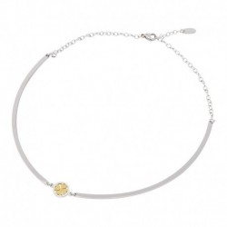 Collier Bangle Trèfle - Or...