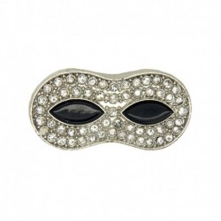 Mask rhinestone 33mm -...