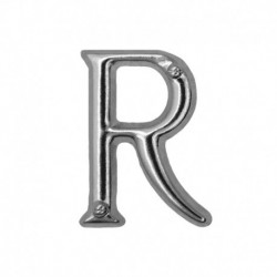 Letter R silver 20mm -...