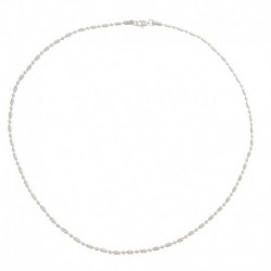 COLLIER HOMME ARGENT - 600 MM